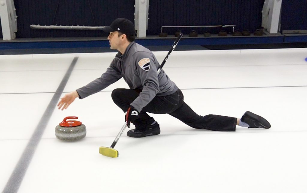 Curling Delivery