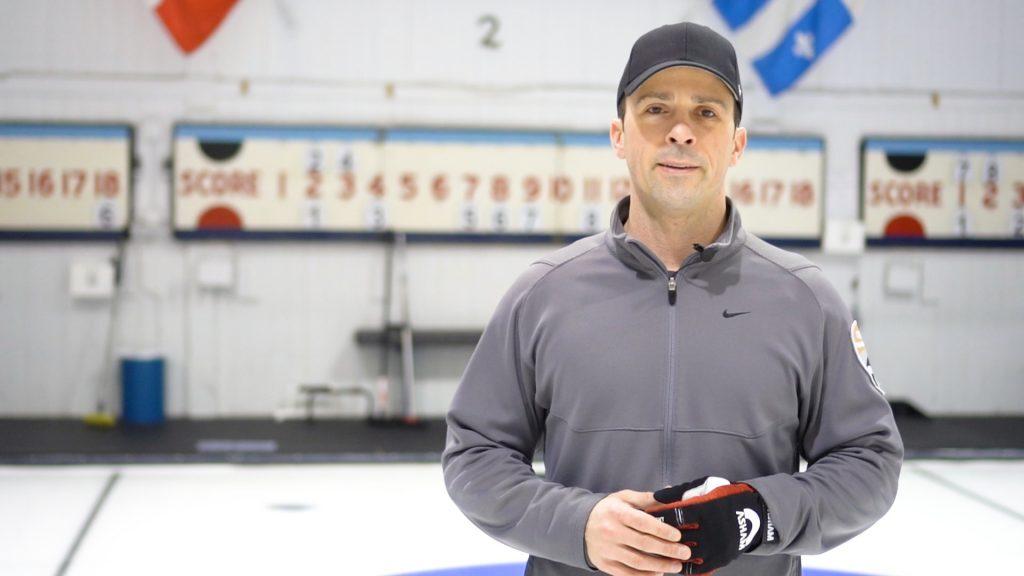 Curling Coach Matt Bean
