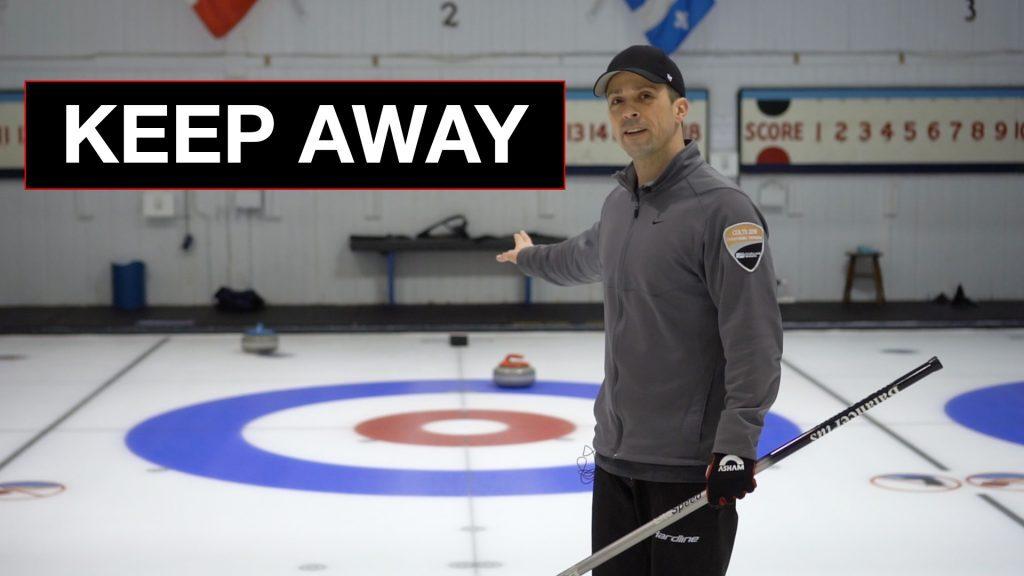 Keep Away Curling Drill