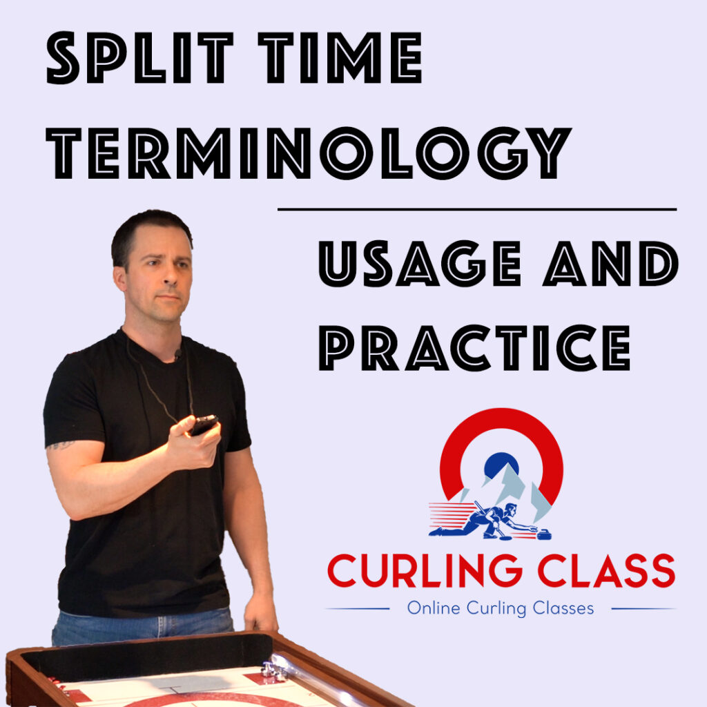 Split Time Stones in Curling